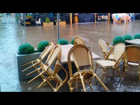 Смерч ливень потоп в Одессе