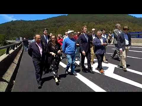 Inaugurada la nueva Autovía do Morrazo