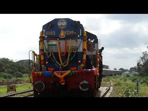 First broad gauge Coimbatore - Pollachi train
