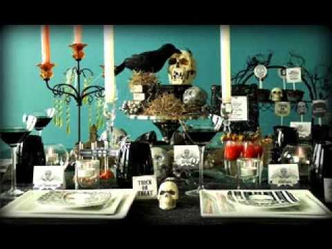 Creative Halloween Dinner Party Decorations Ideas Youtube