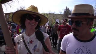 Hundreds of thousands of people across the globe took part in a collective march for science this past Earth Day. In Flagstaff well over a thousand participated, signs in hand, marching towards city hall, in support of science, education and truth.