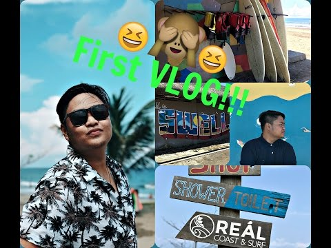 First Ever Vlog!!! | A trip to Real, Quezon