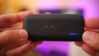 ZAAP 6700 mAh Ultra Compact Power Bank Unboxing & Review