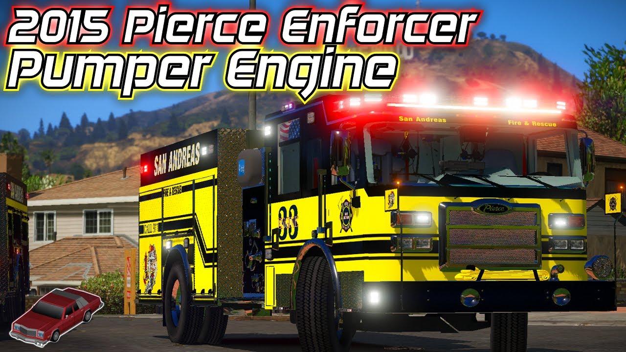 2015 Pierce Enforcer Pumper Engine | Showcase | Model Made By: JackTheDev#3347