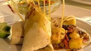 Roasted Corn & Chicken Quesadilla - Grace Foods Creative Cooking Chef Series