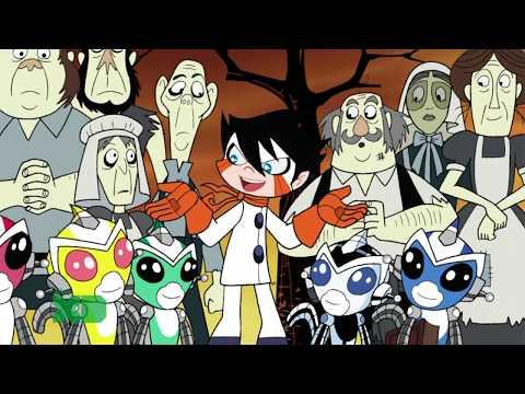 Super Robot Monkey Team Hyper Force Go! 29 Episode Season of the Skull FullHD