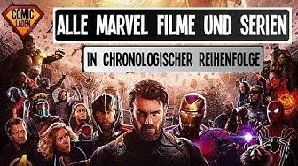 Marvel Serie Reihenfolge