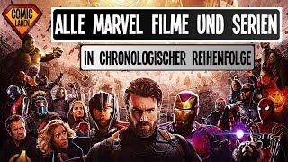 Die komplette MCU Timeline – ALLE FILME und SERIEN in chronologischer Reihenfolge [onsXreen]
