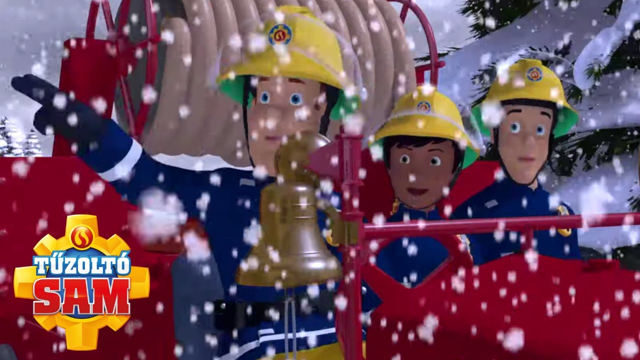 Tűzoltó Sam   Havas mentés!   összeállítás   Rajzfilmek gyerekeknek