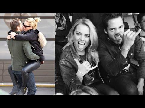 Margot Robbie Boyfriend - Margot Robbie and Tom Ackerley