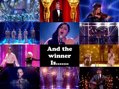 Britain's Got Talent Season 8 Finals **And The Winner IS........? Find out here**