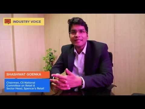 Shashwat Goenka at  CII National Retail Committee Meeting