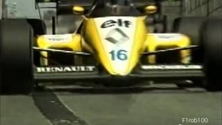 Classic F1 race review detroit 1984