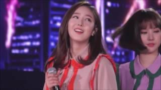 161127 GFriend ments ( SinB focus ) at 2016 Super Seoul Dream Concert. 여자친구 신비