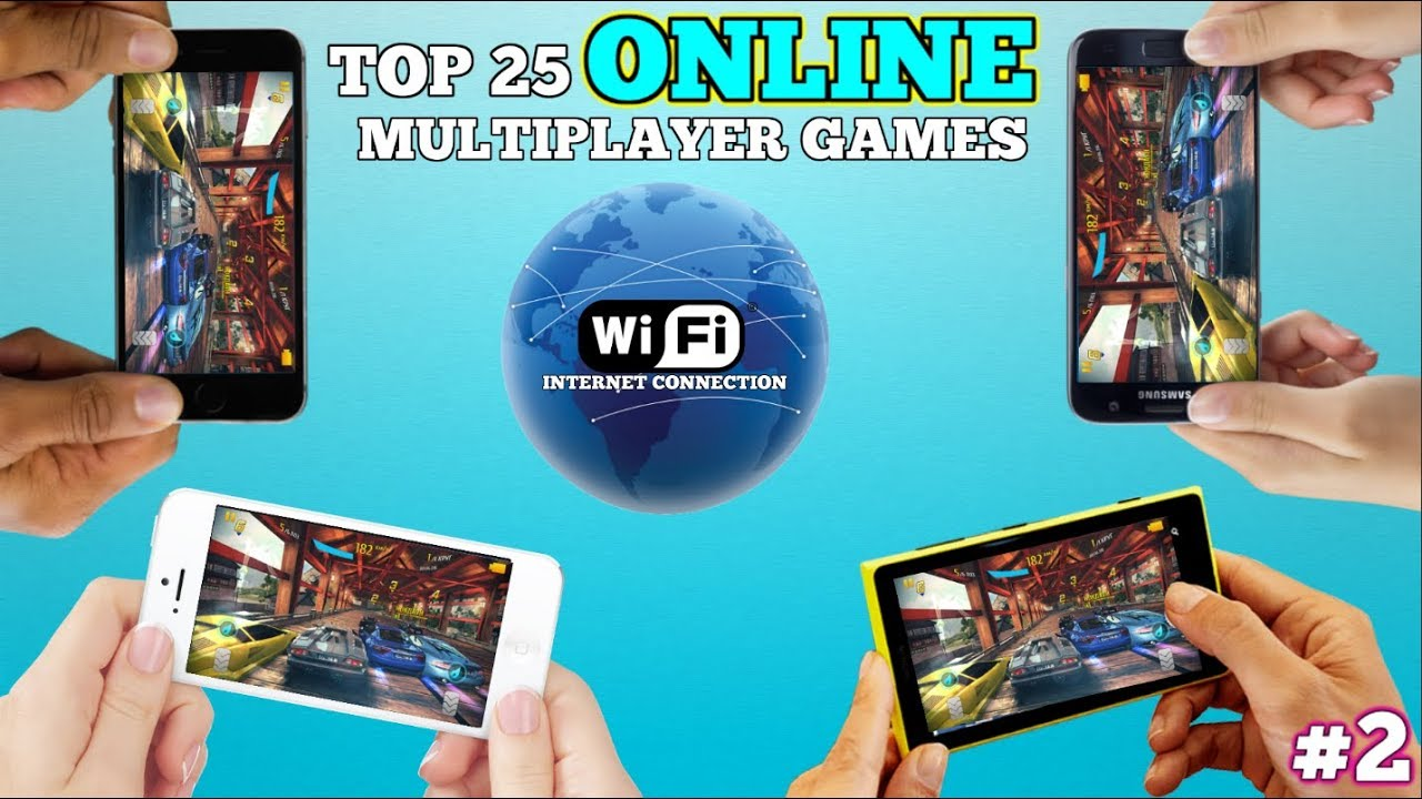 Top 25 Online Multiplayer Games For Android Ios Via Wifi