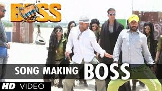 Boss Title Song Making | Akshay Kumar | YO YO Honey Singh, Meet Bros Anjjan
