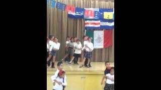 2nd graders dancing TANGO