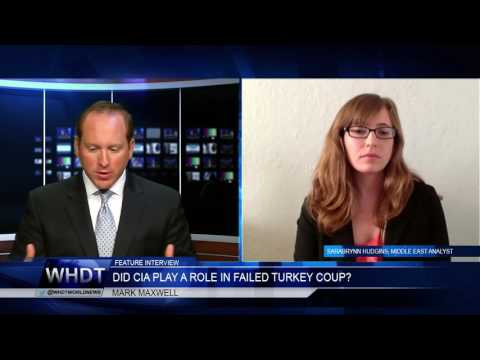 INTERVIEW SARABRYNN HUDGINS, MIDDLE EAST ANALYST