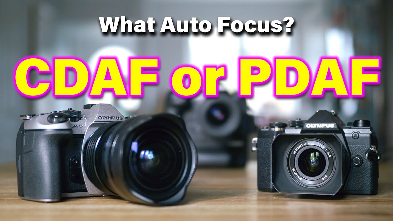 Geeky Talk : Which one better, CDAF or PDAF ?? - RED35 Review