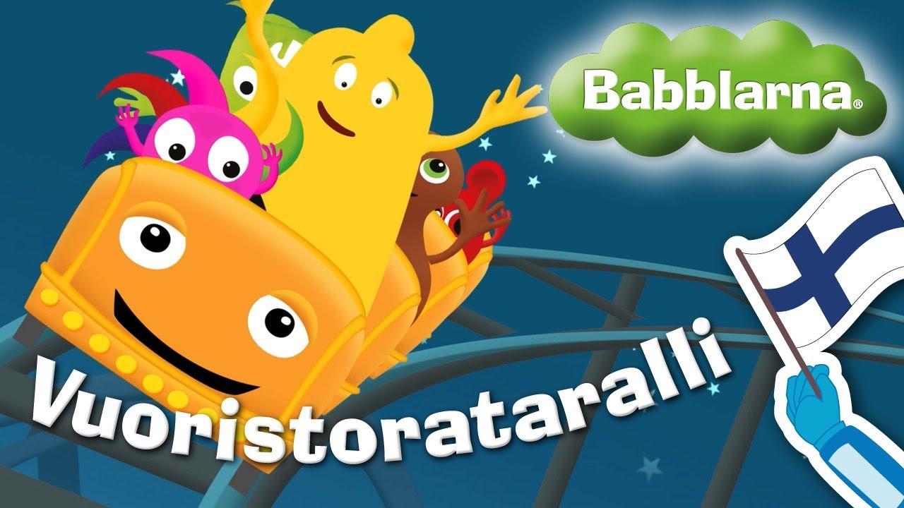 Vuoristorataralli – Babblarna musiikkivideo