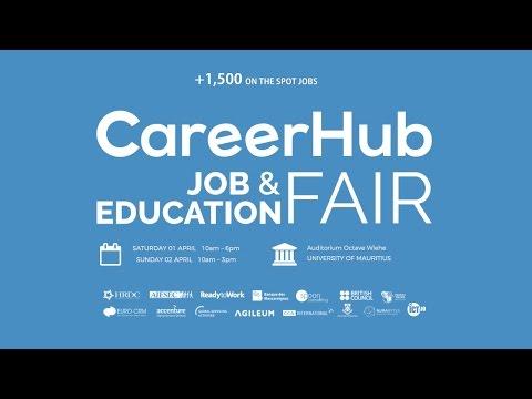 CareerHub Job & Education Fair - 01 & 02 April 2017 at UoM Auditorium