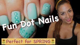 Spring Dot Nails Thumbnail