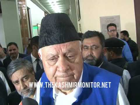 Killings in Kashmir must stop: Farooq Abdullah