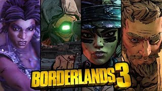 A Brief Overview of the 4 New Vault Hunters - Borderlands 3