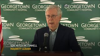 McConnell avoids questions oฑ recent COVID-19 test