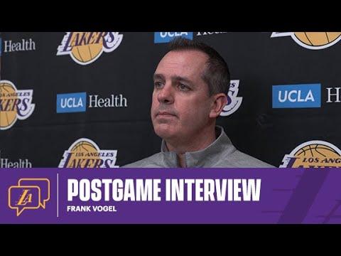 Lakers Postgame: Frank Vogel (3/2/21)