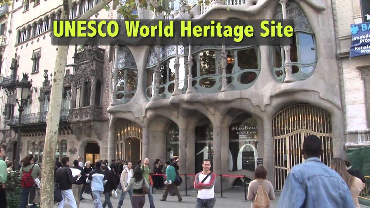 casa batlló by gaudí in barcelona catalonia spain youtube