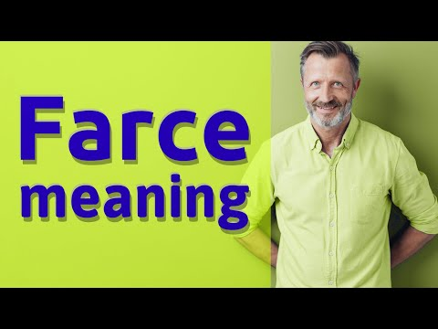 Farce | Definition Of Farce