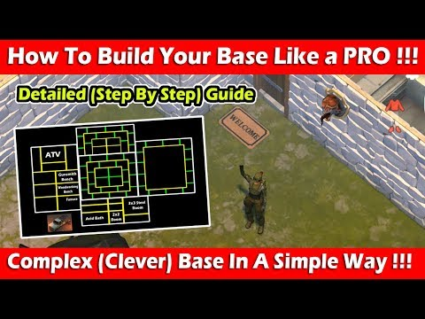 How To Design Your Base Like A PRO In Version 1.8! Last Day On Earth Survival