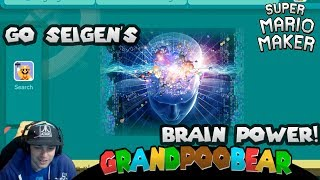 Super Seigen's Brain Power! This Level Is Awesome! Mario Maker