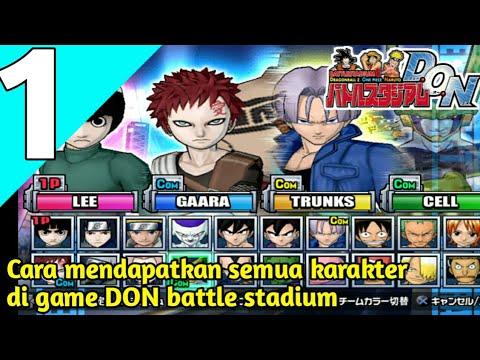 CARA MENDAPATKAN SEMUA KARAKTER - BATTLE STADIUM D.O.N INDONESIA ( PS2 )