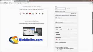Gmail Kaydol - Gmail Hesap Aç - Yeni E-Posta Adresi Al