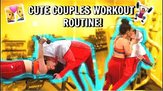 Our Couples Workout Routine *cute*