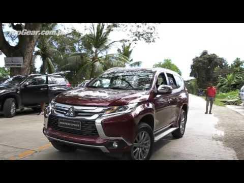 We drive the all new Mitsubishi Montero Sport in Cebu