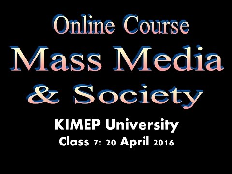 KNU Media & Society Class 7 -- Radio