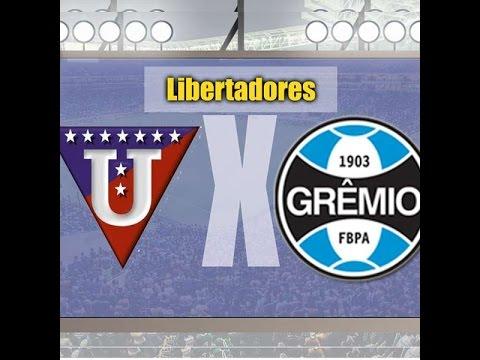 LDU x Grêmio - 13/04/2016