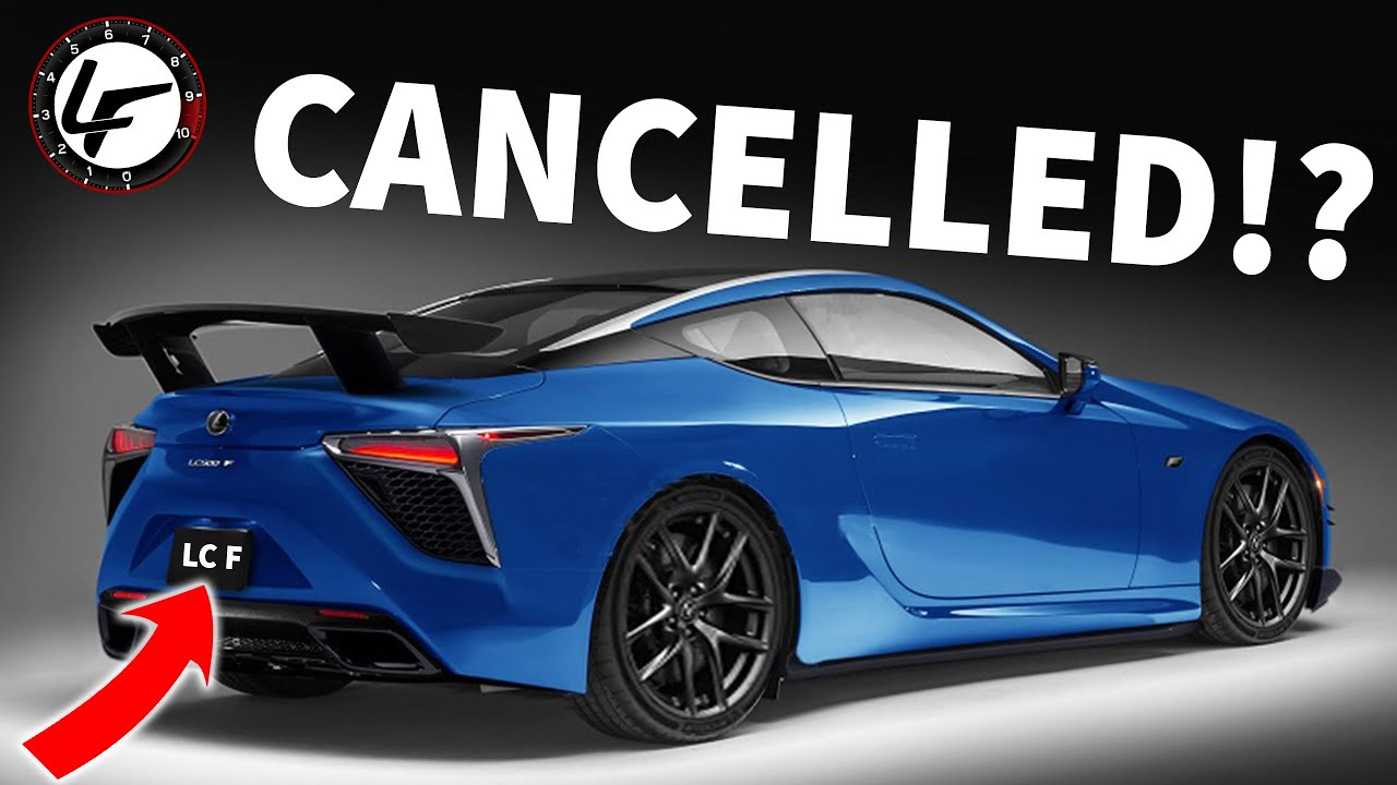 4 Lexus LC F is now CANCELLED !?