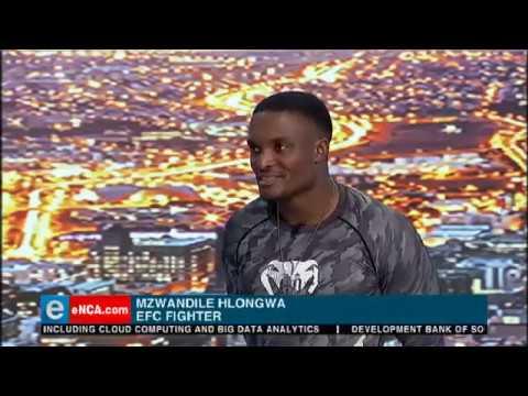 Mzwandile Hlongwa talks EFC 75 KO if the Year on eNCA