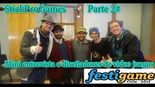 FestiGames Chile Agosto 2013 Con Lucius | Mini Entrevista IguanaBee y Pangea Studios | Parte 2# |