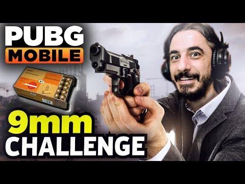 9mm MERMİ CHALLENGE - PUBG Mobile