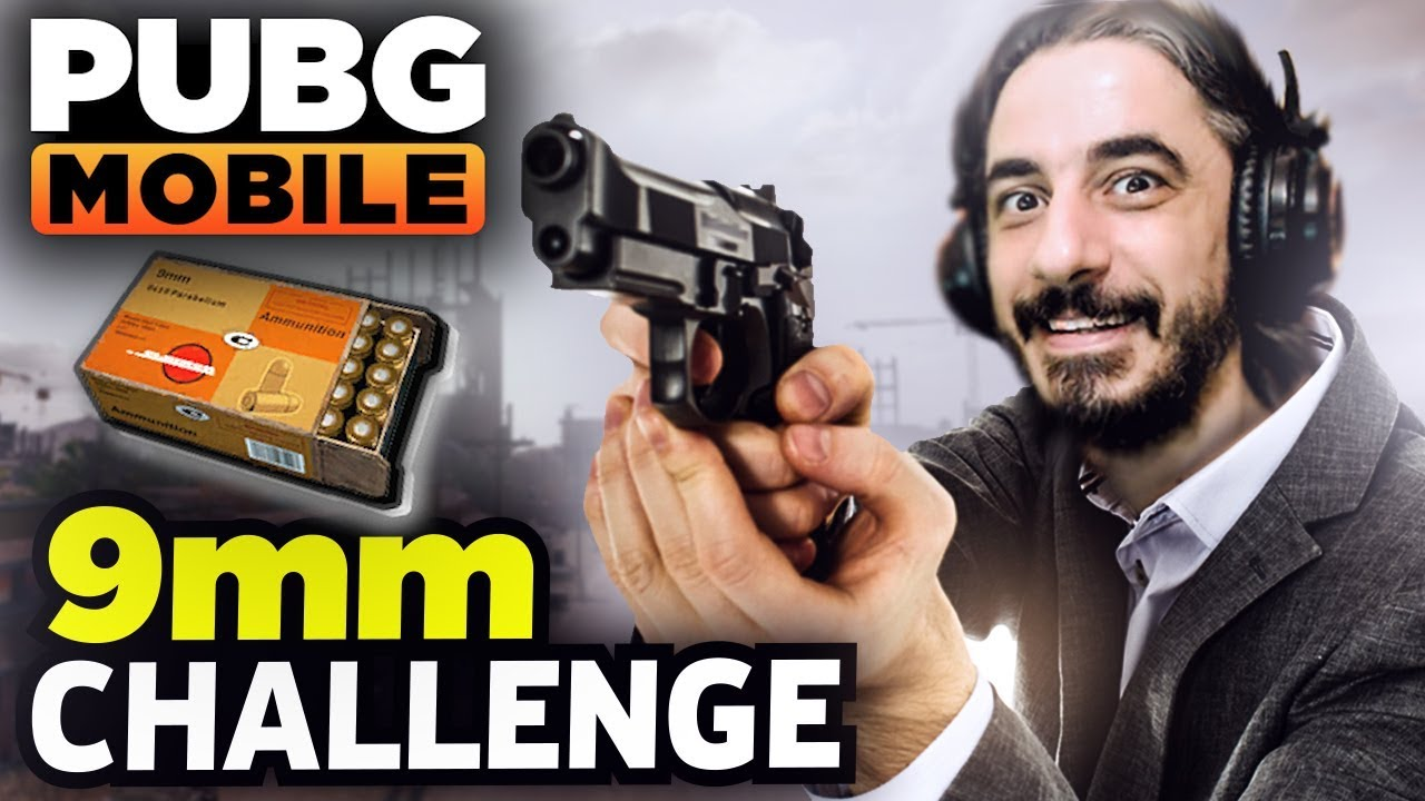 9mm MERMİ CHALLENGE - PUBG Mobile