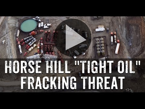 Horse Hill Tight Oil Fracking Threat