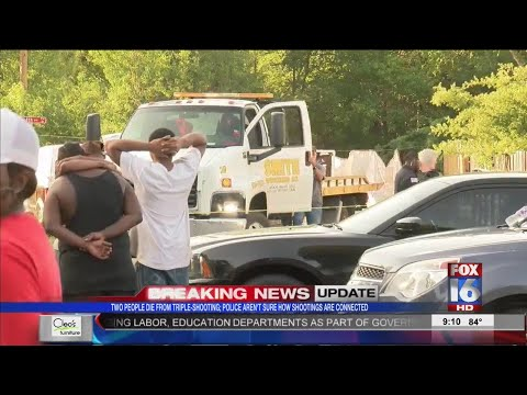 Triple Shooting Investigation in Pine Bluff