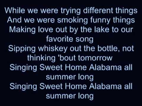 Kid Rock  All Summer Long  Lyrics