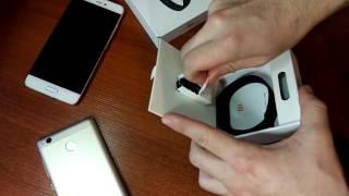 Розпакування 2 посилок.Xiaomi MiBand 2 GearBest. Захисне скло Nillkin Aliexpress