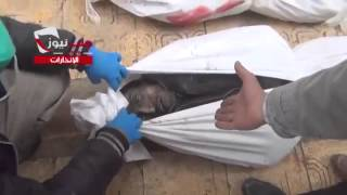 18+ 21+ Сирия: резня в Алеппо. Тела убитых 16.12.2013 (3)